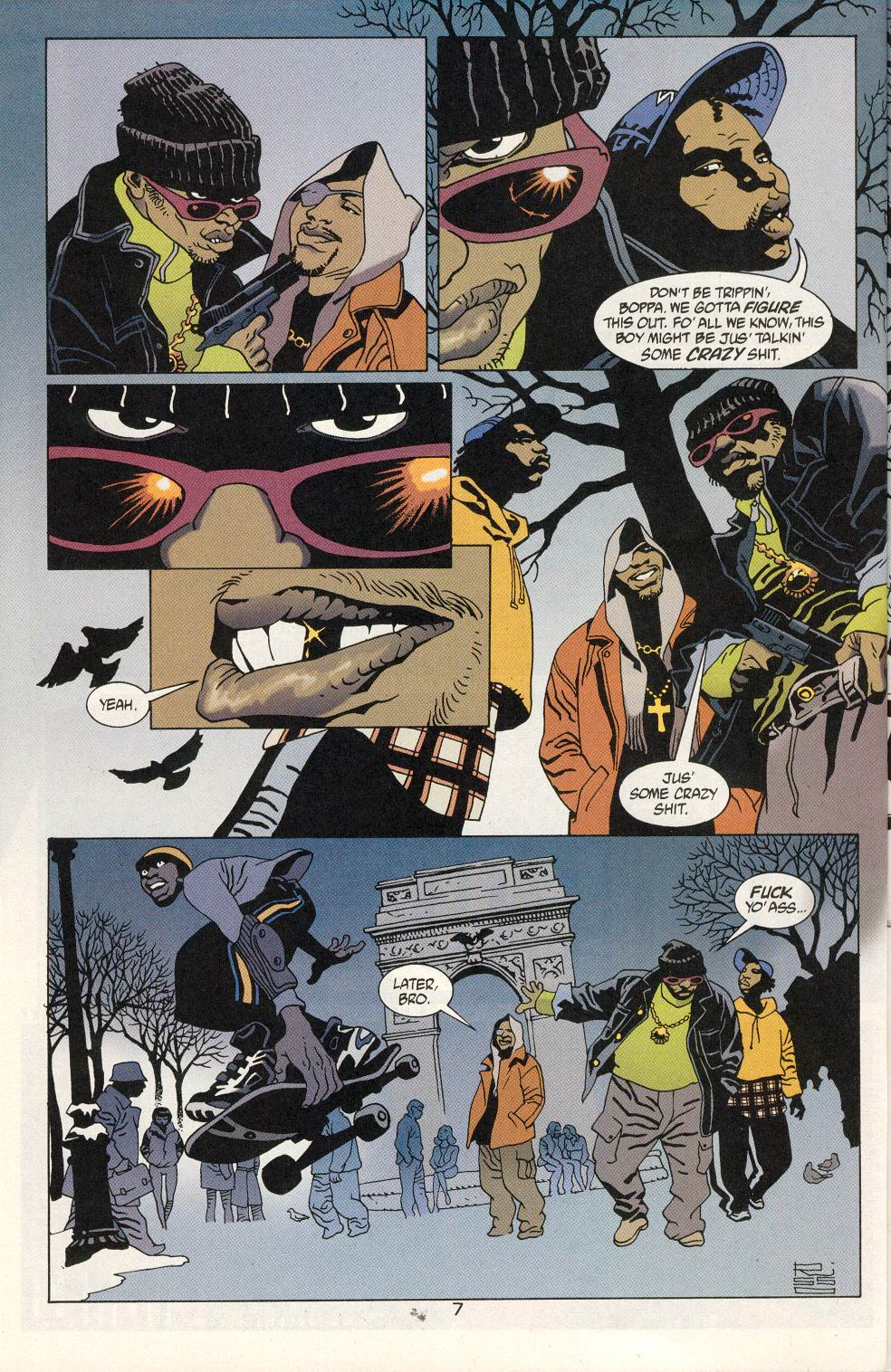 Read online 100 Bullets comic -  Issue #20 - 9