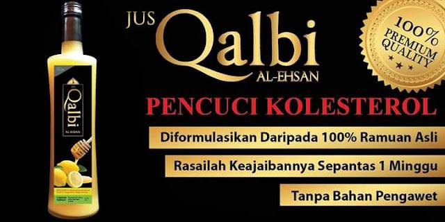Jus Qalbi Al-Ehsan Penawar Kolestrol Dan Melangsingkan Badan