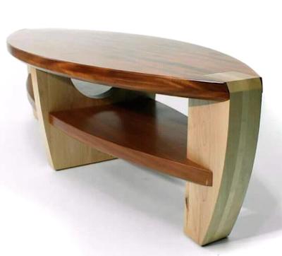 model meja unik kayu suar