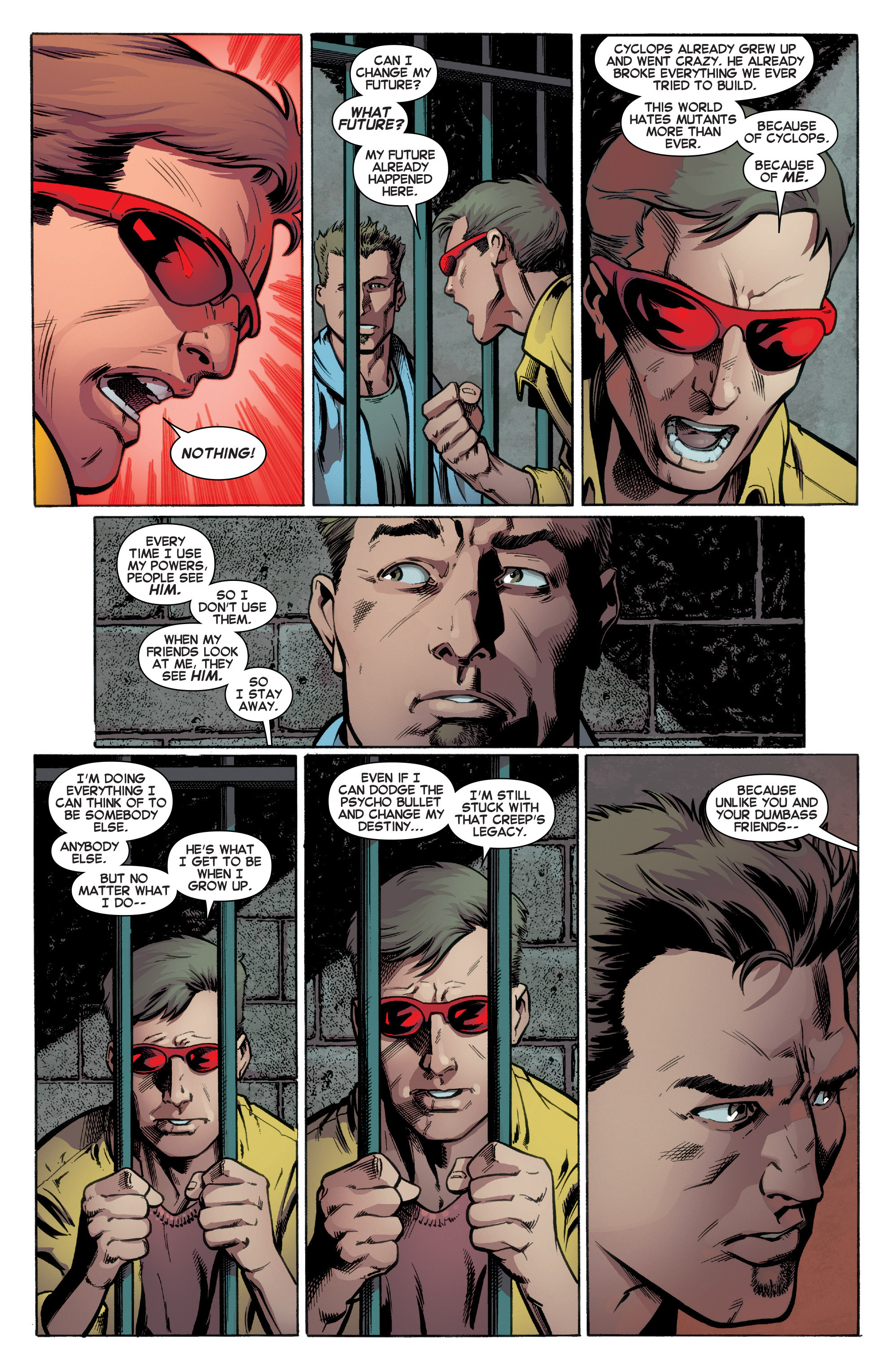Read online All-New X-Men (2016) comic -  Issue #2 - 21