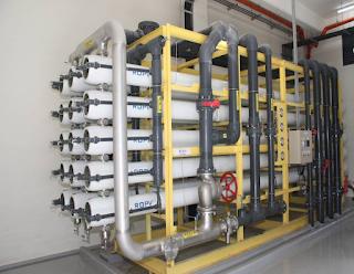 再生水模型廠設備