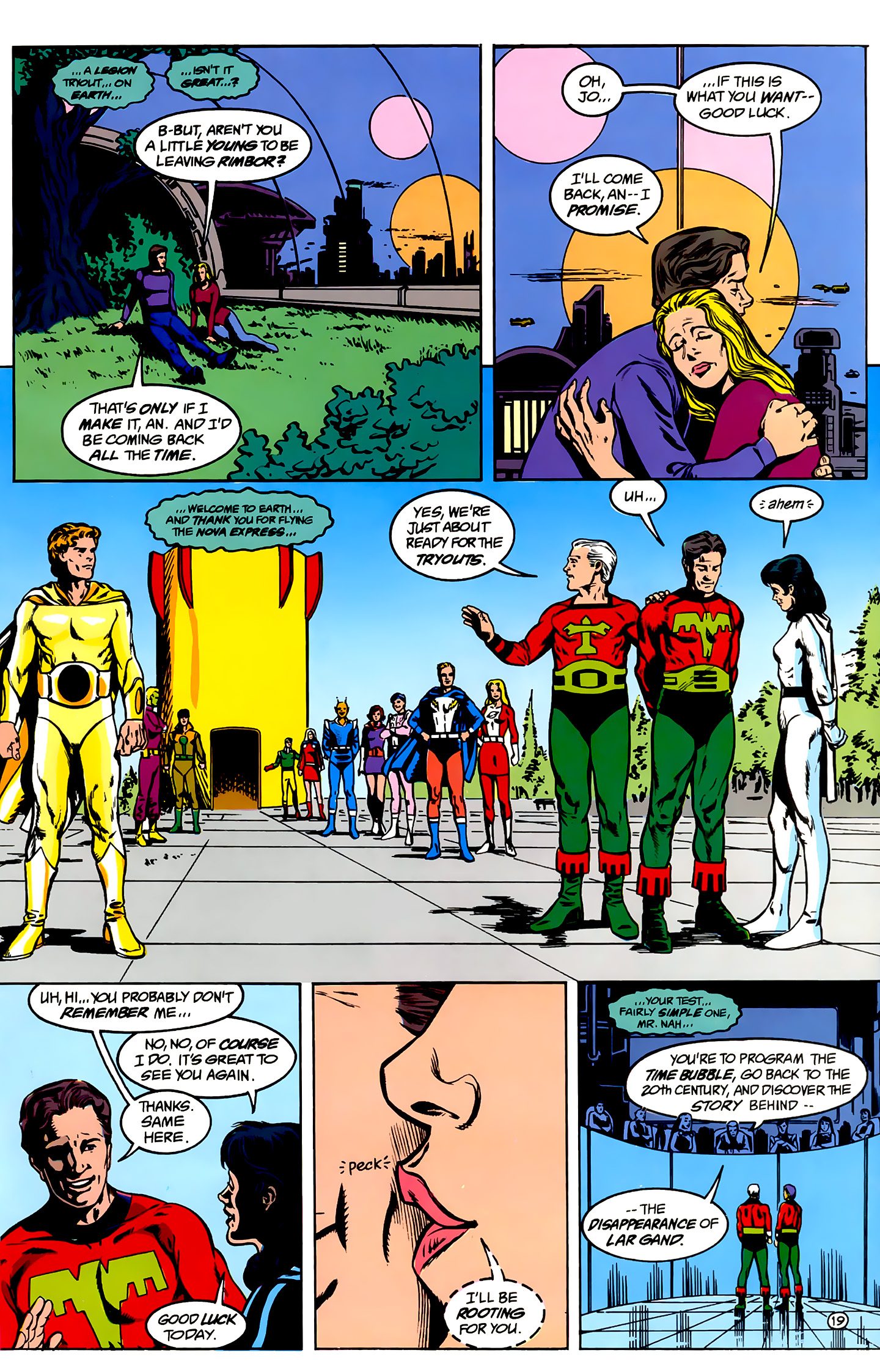 Legion of Super-Heroes (1989) _Annual_1 Page 19