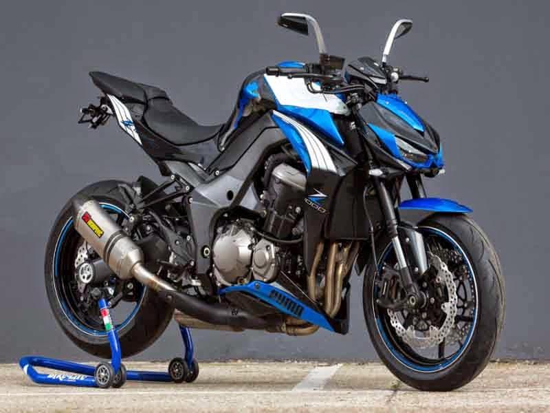 Galeri Foto Modifikasi Kawasaki Z1000 Terbaru  Modif