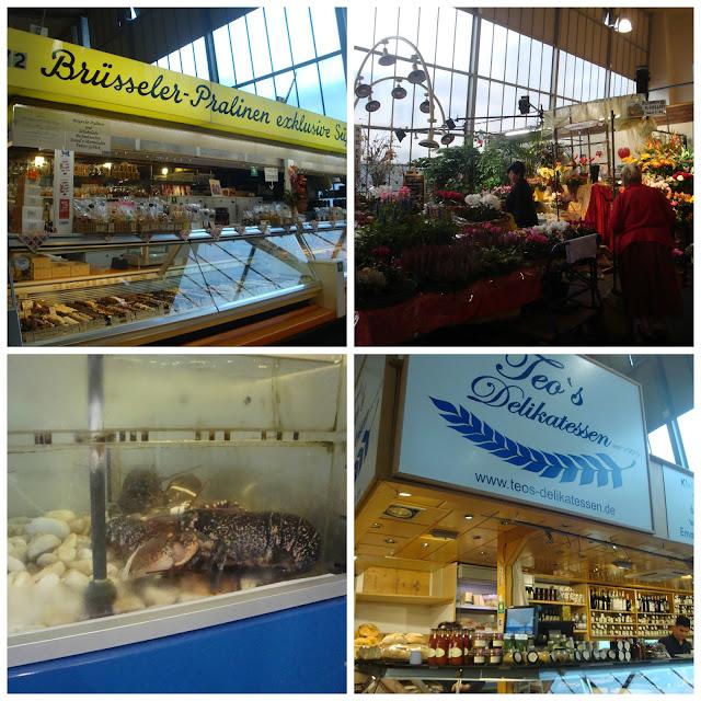 Onde comer em Frankfurt - Kleinmarkthalle