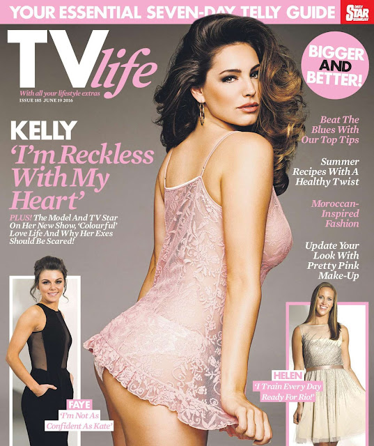 Actress, Model, @ Kelly Brook – TV Life Magazine, June 2016
