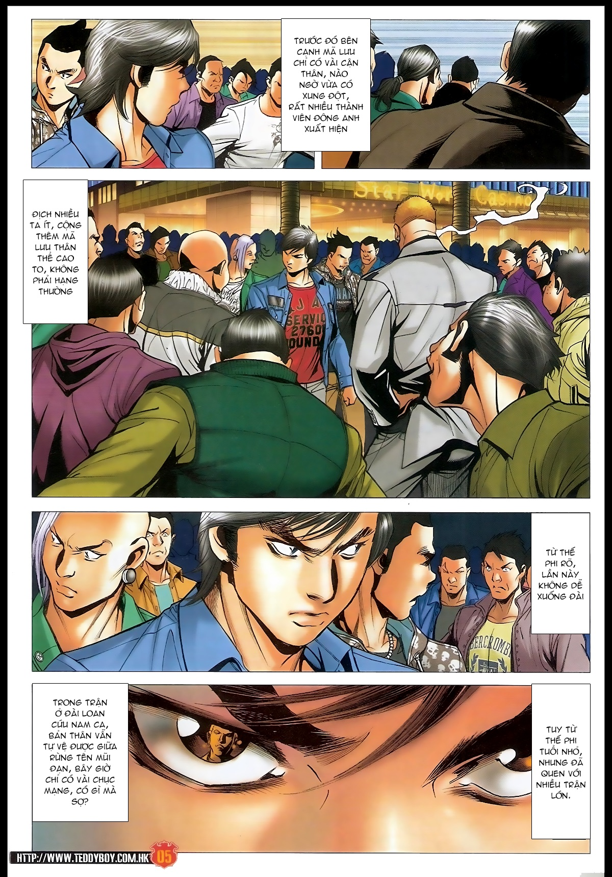 Người Trong Giang Hồ - Chapter 1566: Bốc shit - Pic 4