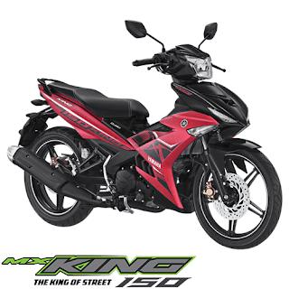 Kredit Motor Yamaha Jupiter MX King 150 Matte Red Murah