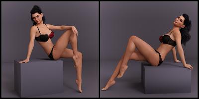 Mannequin Poses for Genesis 8 Female