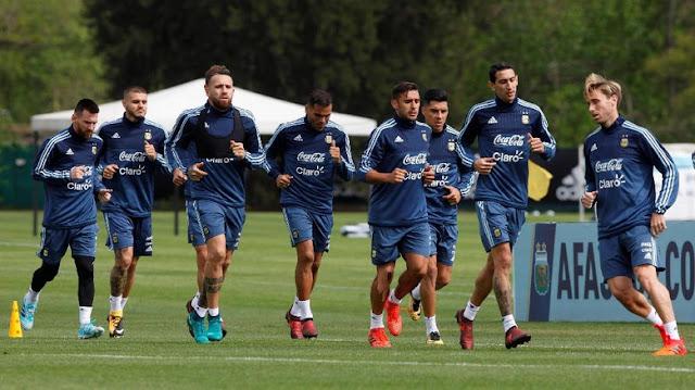 Argentina Akan Bermain Agresif Dari Awal Pertandingan