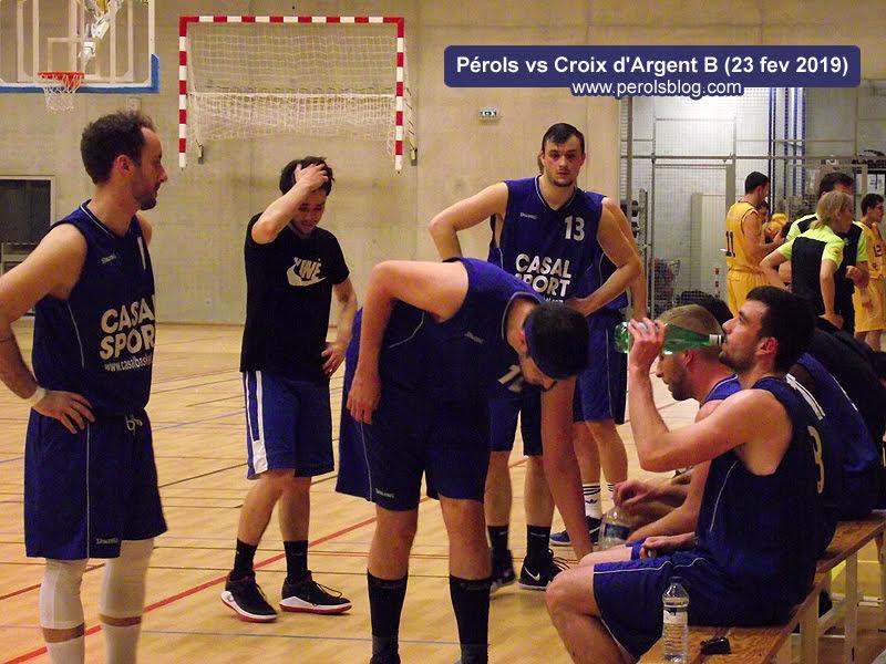 Pérols Basket vs La Croix d'Argent Basket