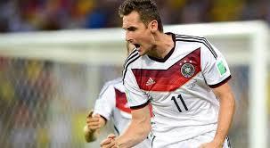 Jugador Alemán Miroslav Klose