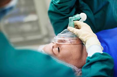 El anestesiólogo operación