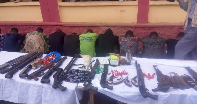 Three siblings and six others arrested for robbery in Ogun State