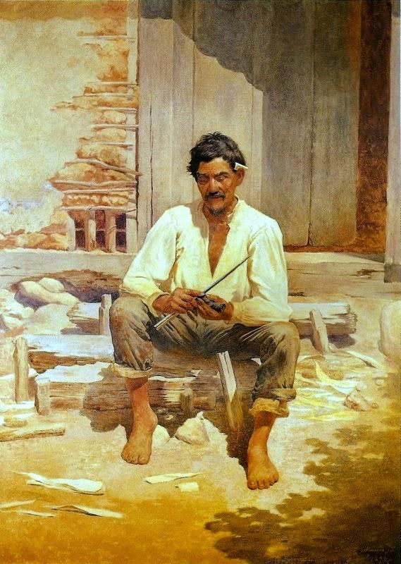 Caipira Picando Fumo - Almeida Júnior e suas principais pinturas ~ brasileiro