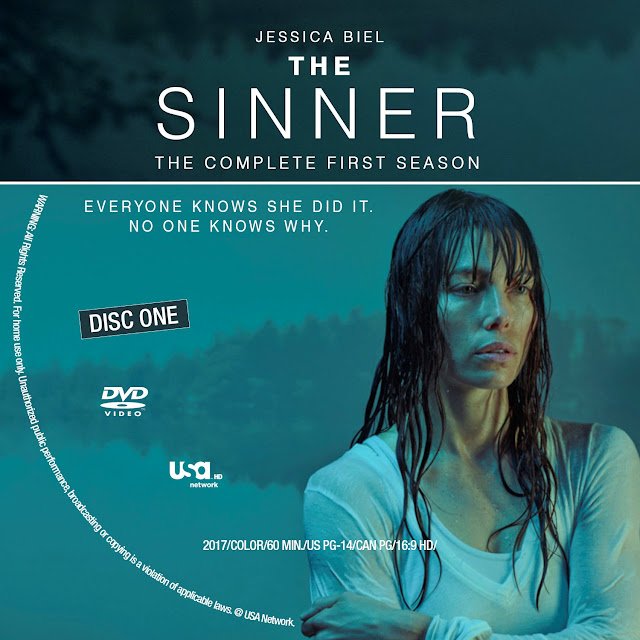 The Sinner Season 1 Disc 1 DVD Label
