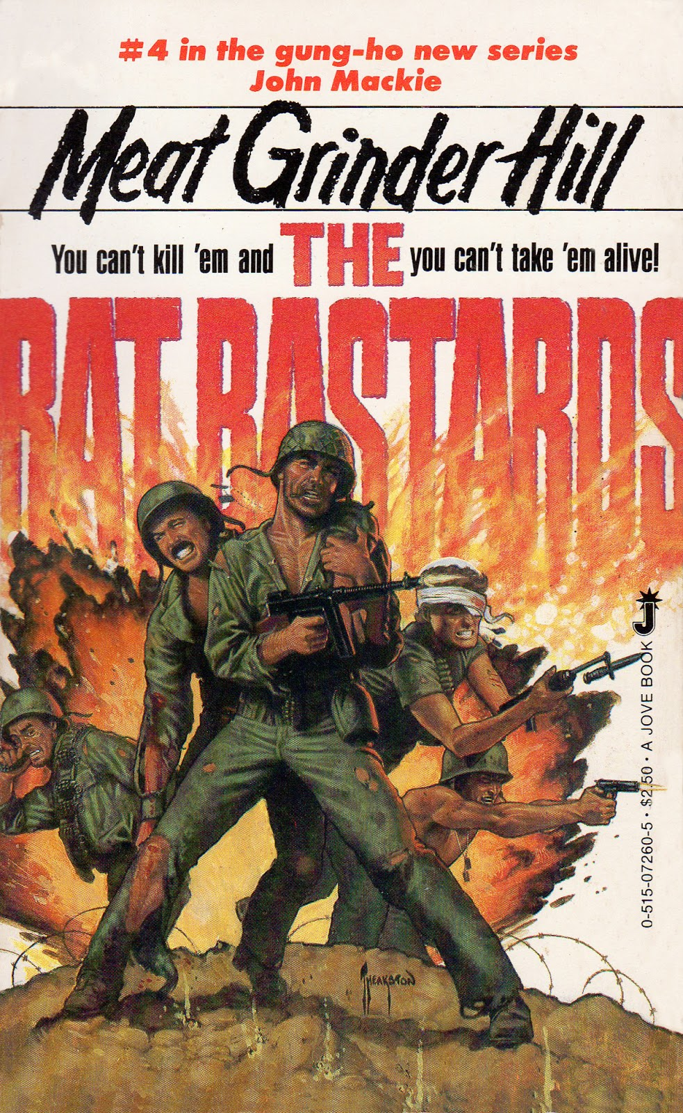 Paperback Warrior: The Rat Bastards #04 - Meat Grinder Hill