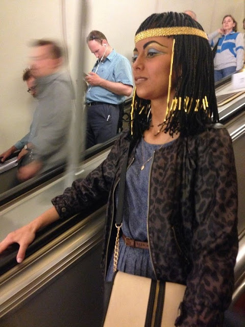 Ela prefere passar o verão fora do Egito, mas sem esquecer suas raízes