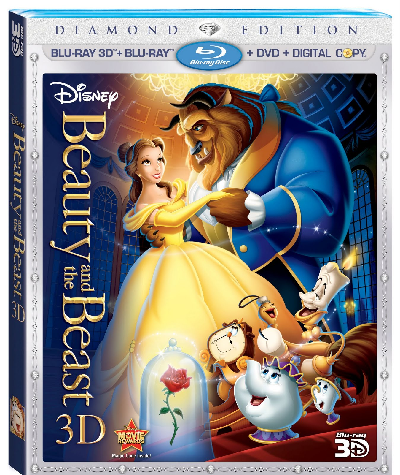 Yesasia: beauty and the beast (diamond edition; dvd/blu-ray) (us.