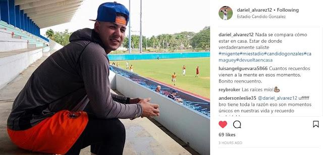 Celebramos el regreso a su patria del camagüeyano Dariel Álvarez y le deseamos cosas buenas en su futuro con los Orioles.