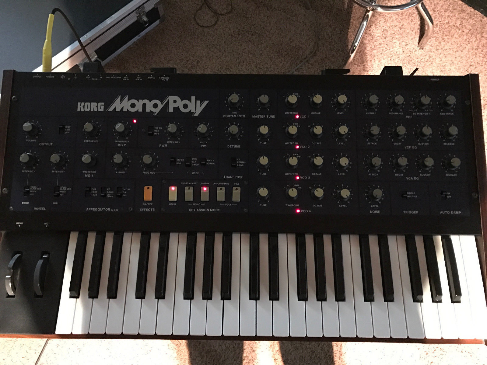 Korg legacy Mono poly Manual
