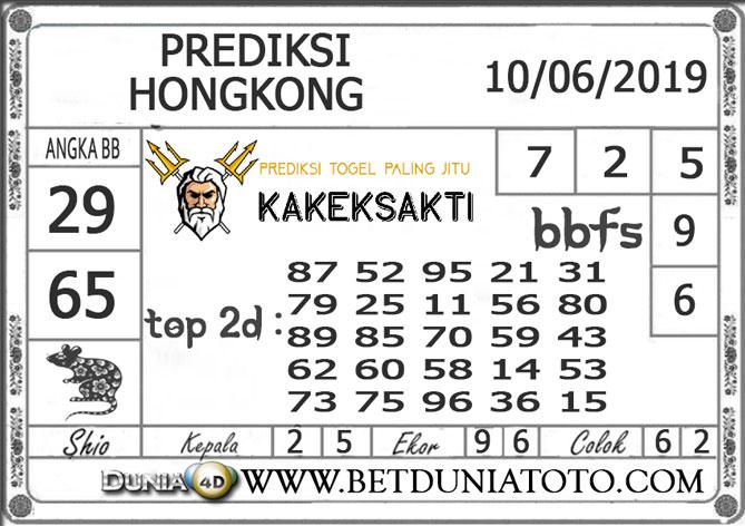 Prediksi Togel HONGKONG DUNIA4D 10 JUNI 2019