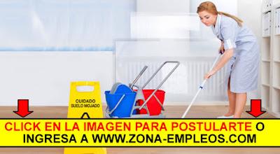SE BUSCA PERSONAL DE LIMPIEZA - PART TIME