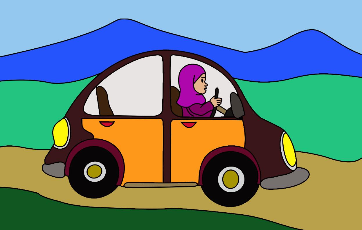 Mewarnai Gambar Anak Anak Mewarnai Mobil Lucu