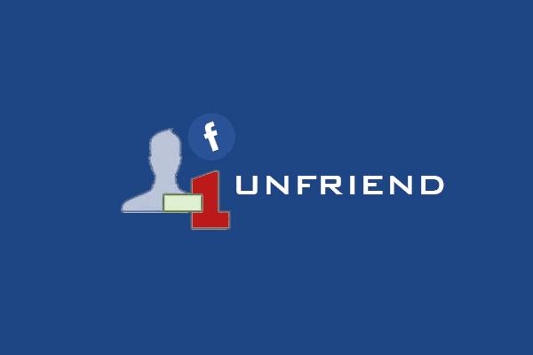 Cara Cepat Menghapus Pertemanan Facebook