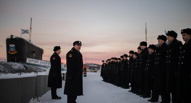 Rusia:Juegos de Guerra submarina