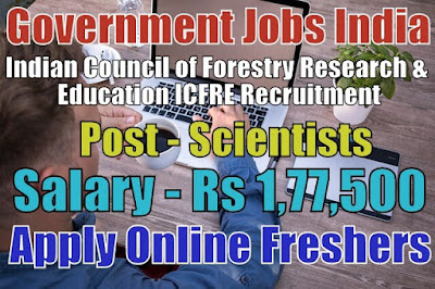 ICFRE Recruitment 2019
