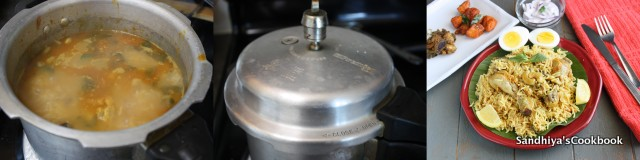 how to make chicken biryani in pressure cooker