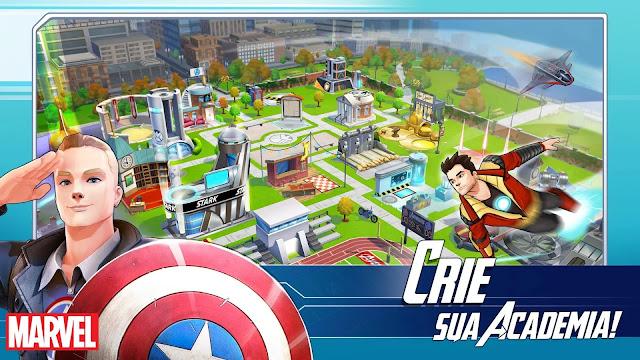 MARVEL Avengers Academy v1.3.1 Apk Mod [Creditos]