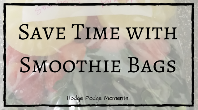 Save Time with Smoothie Bags