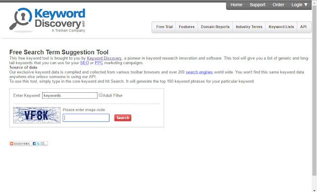 "long tailed keywords of the keyword ""keyword"""