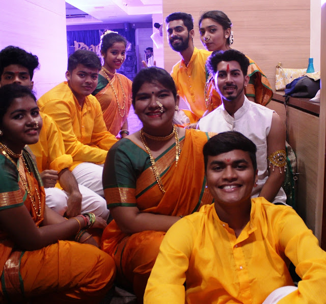 BMM department of VES Degree College organizes Raaga festival to celebrate Indian cultural ethos