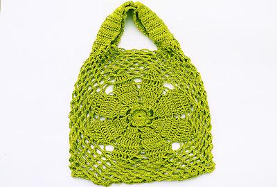 3-Imagen bolso de flor a crochet y ganchillo Majovel Crochet