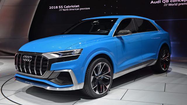 2018 Audi Q8 New Beast