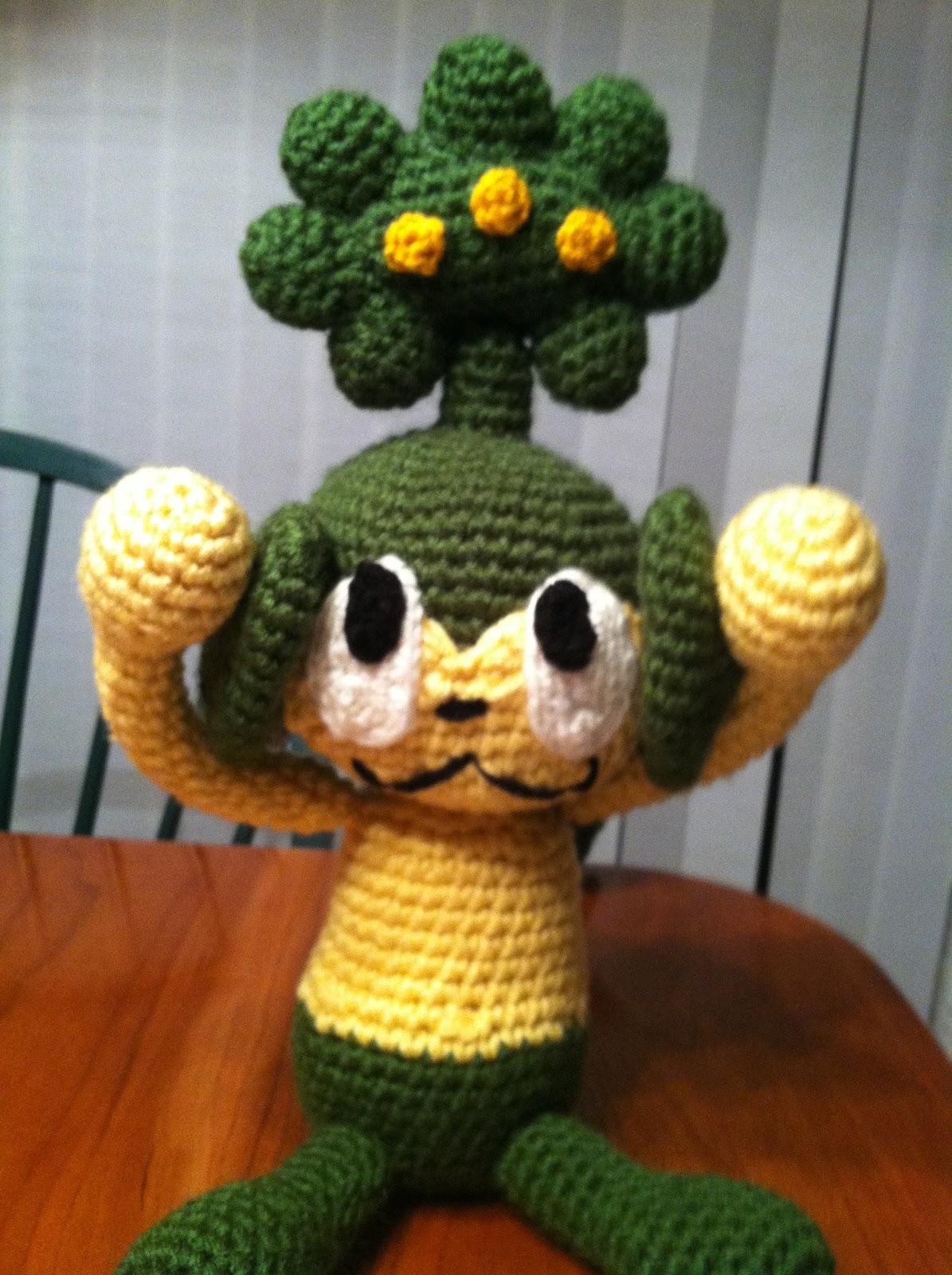 Heart In Flight Crochet Pansage Crochet Pattern