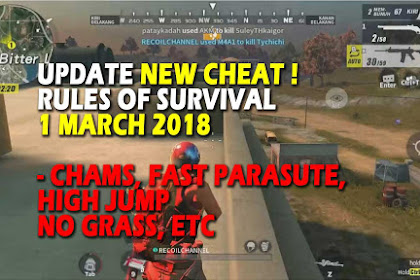 Cheat Rules of Survival Update 1 maret 2018 !