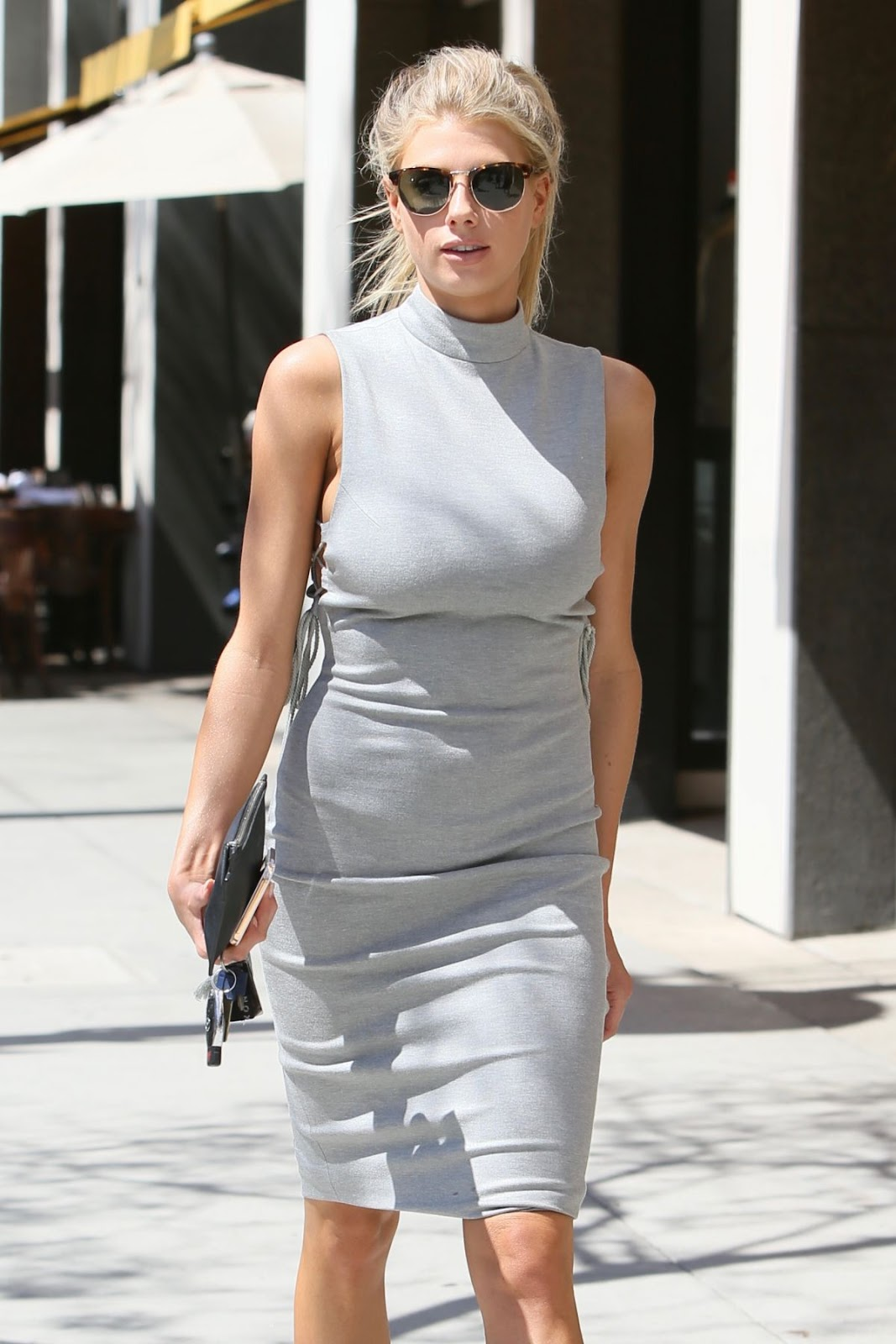 Charlotte Mckinney Out And About In Beverly Hills 2016 HD Photos