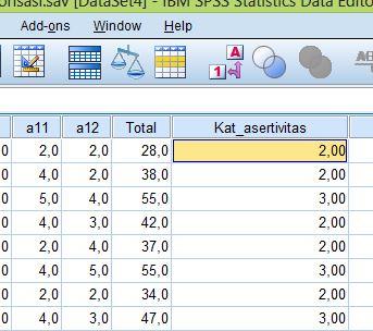 Cara Membuat Kategorisasi Data Penelitian Dengan Spss Semesta Psikometrika