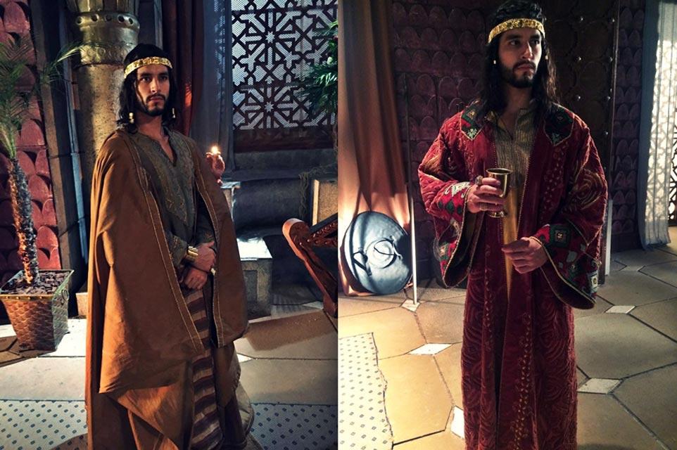 """Thiago Sá vai interpretar o príncipe Edon em """"Os Dez Mandamentos"""". Foto: Juliano Mendes/Divulgação"""