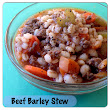 Beef Barley Stew in the Ninja Cooking System