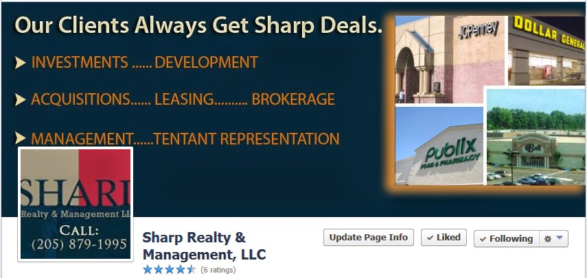 Sharp Realty facebook page