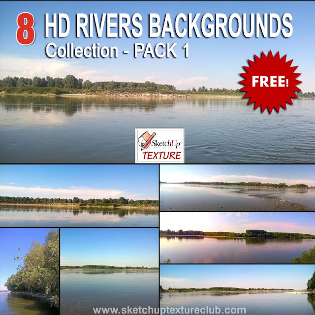 Free HD Rivers Wallpapers pack #1