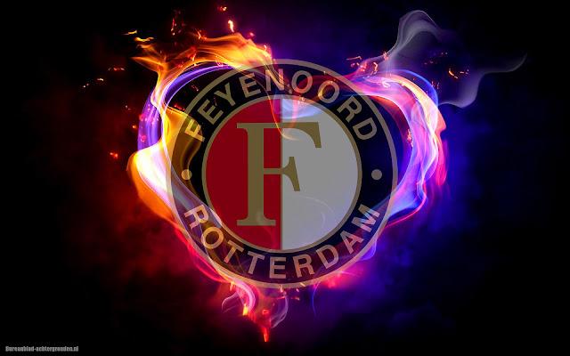 Feyenoord achtergrond met logo