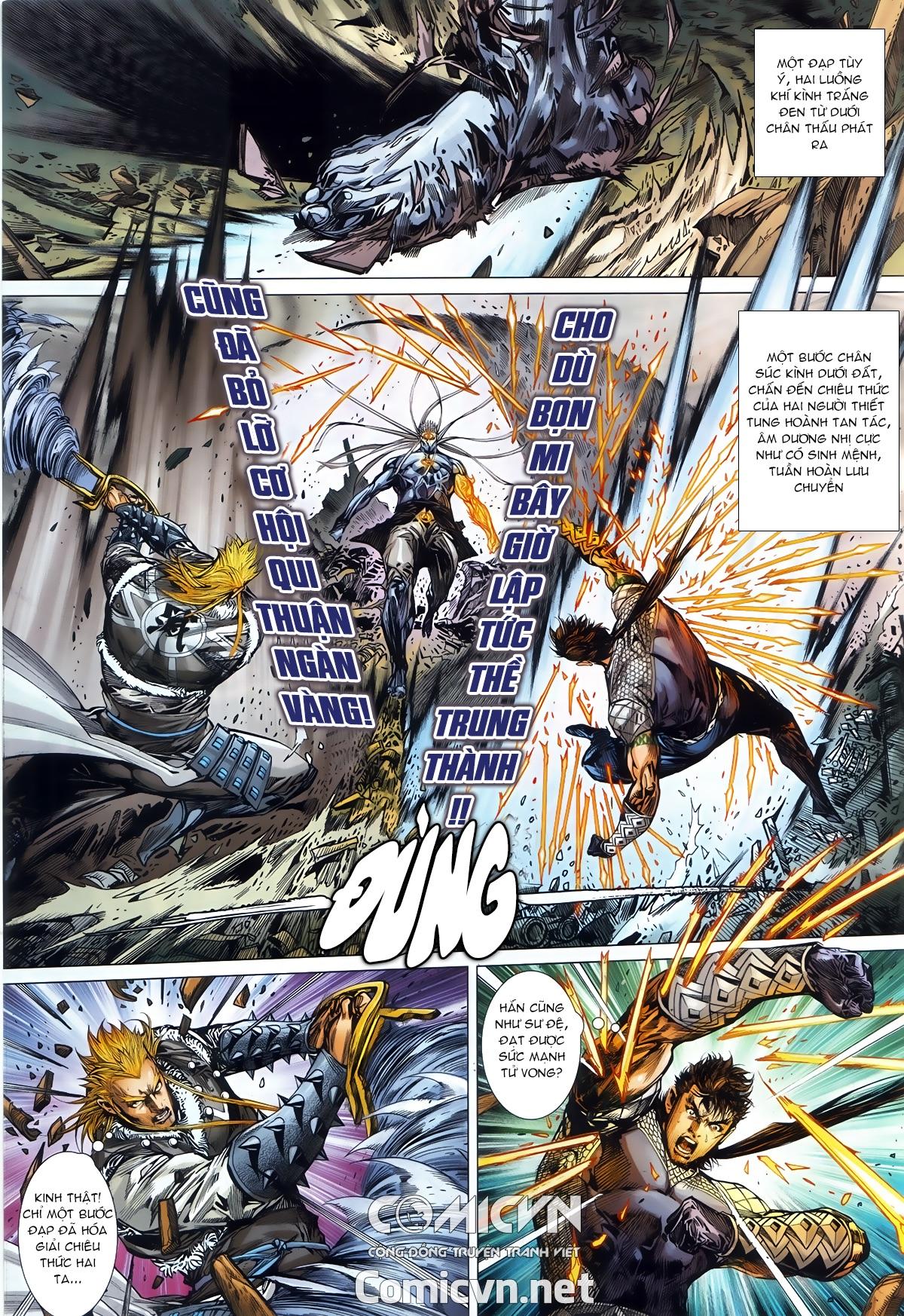 Thiết Tướng Tung Hoành chap 245 - Trang 26