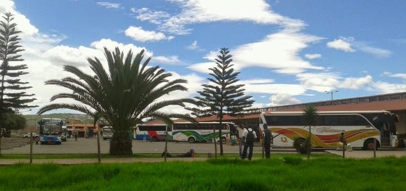 Destino frecuencia horario de salida de buses desde la Terminal Terrestre de Ibarra