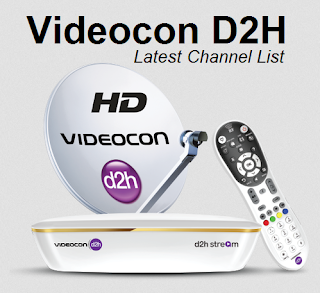 Videocon D2H Latest Channel List
