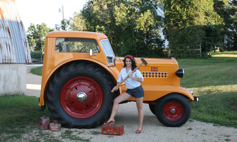 Just A Car Guy The Tractors Gone Wild Calendar Donated -7579